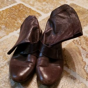 Aldo brown leather boots size 40